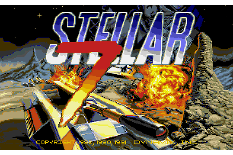 Stellar 7 (1991) by Dynamix Amiga game