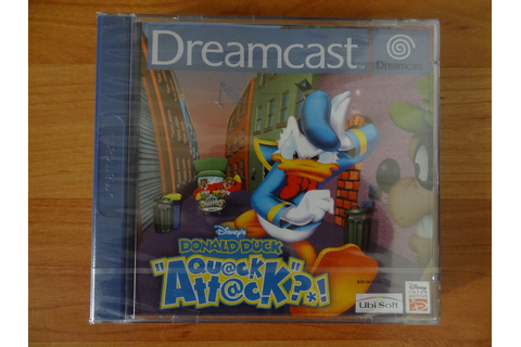 Lot van 5 Dreamcast games, o.a. Donald Duck Quack Attack ...