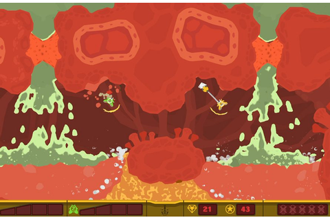 PixelJunk Shooter 2 Review - Just Push Start