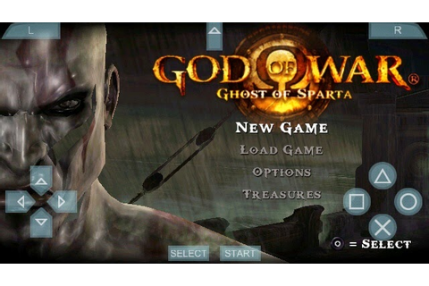 PPSSPP God Of War : Ghost of Sparta on xperia C ~ Games ...