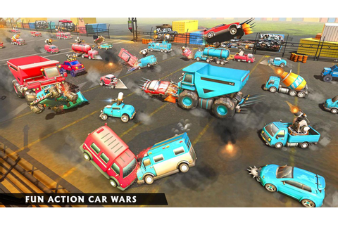 Futuristic Cars Battle Simulator - Car Crash Games for ...