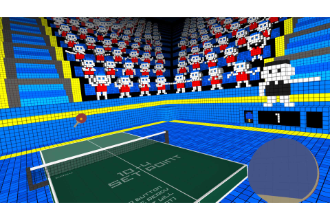 VR Ping Pong, out today, lets you perfect your top spin in ...