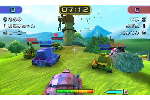 Nintendo announces Tank Troopers for 3DS - Gematsu