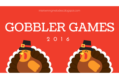 Intertwining Melodies: Gobbler Games 2016