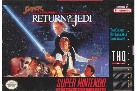 Super Star Wars - Return Of The Jedi (V1.1) ROM - Super ...