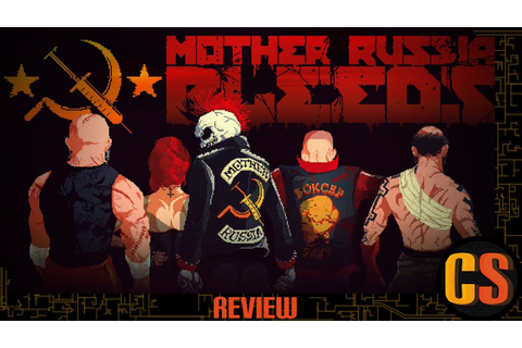 MOTHER RUSSIA BLEEDS - PS4 REVIEW - YouTube