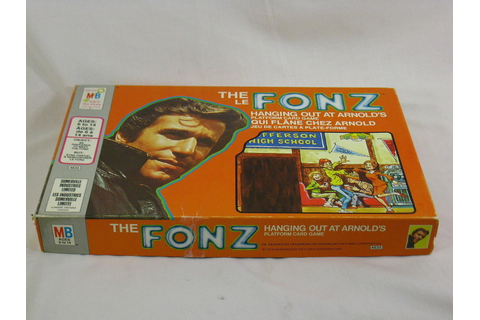 The Fonz 1976 Board Game Hanging Out at Arnold's Milton ...