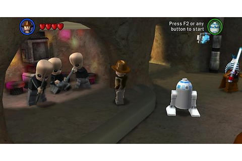 In Lego Star Wars if you disable in-game music the Cantina ...