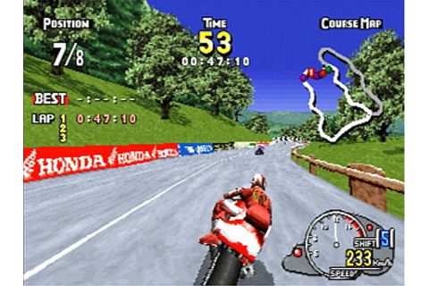 ManX TT Super Bike Sega Saturn | Japan | GS-9102 | マンクスTT ...
