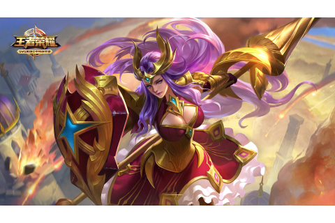 King of Glory-video-game-characters-Athena-warrior-image ...