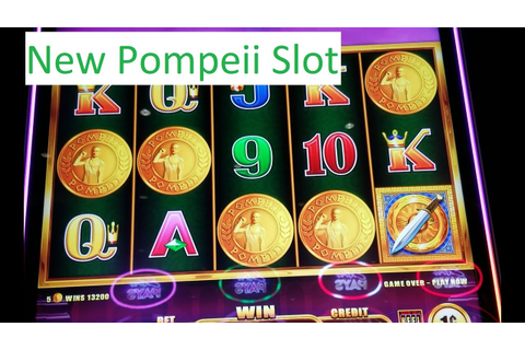 Winning The New Pompeii Game!! Pompeii Rising Jackpots ...