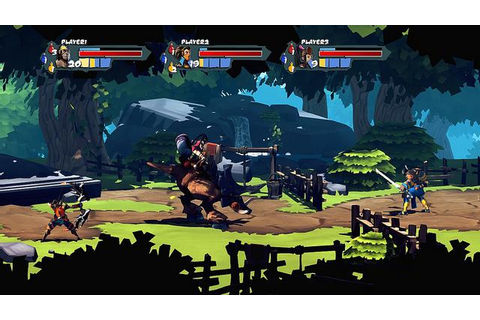 'Sacred Citadel' Brings The 2D Brawler Love To PSN, XBLA ...