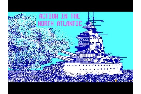 Action in The North Atlantic gameplay (PC Game, 1989 ...