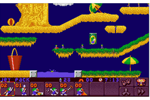 Download Lemmings 2 - The Tribes | Abandonia