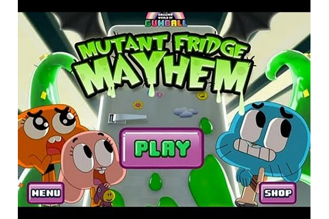 Mutant Fridge Mayhem Gumball iPad App Review Video - YouTube