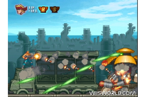 Contra Rebirth on WiiWare