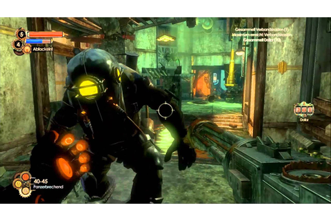 Bioshock 2- Big Sister vs. Big Daddy - YouTube