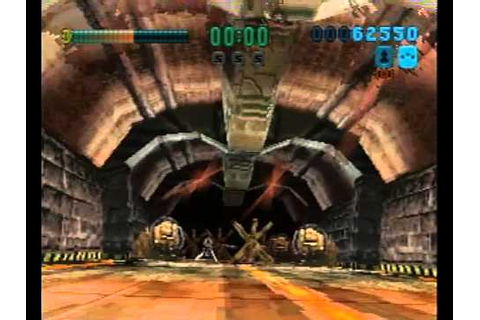 Tunnel B1 Sega Saturn Intro + Gameplay - YouTube