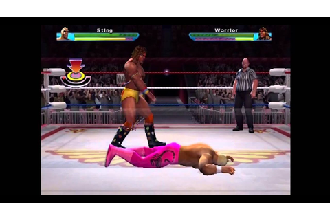 PS2 ¦ Showdown: Legends of Wrestling ¦ Sting Vs Ultimate ...