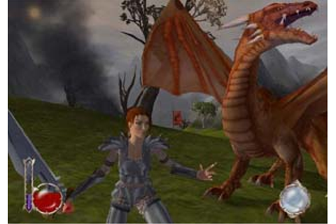 Drakan the Acient Gates PS2 Review - www.impulsegamer.com