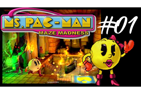 Ms Pac Man: Maze Madness HD - Level #01 Cleopactra - YouTube