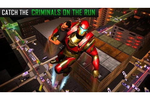 Flying Robot Grand City Rescue (by The Game Storm Studios ...