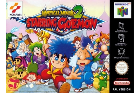 Mystical Ninja Starring Goemon 2 [Europe] - Nintendo 64 ...