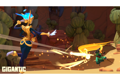 I'm still rooting for the world's most colorful MOBA, Gigantic