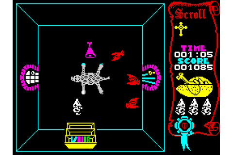 Atic Atac (1983) by Ultimate Play The Game ZX Spectrum game