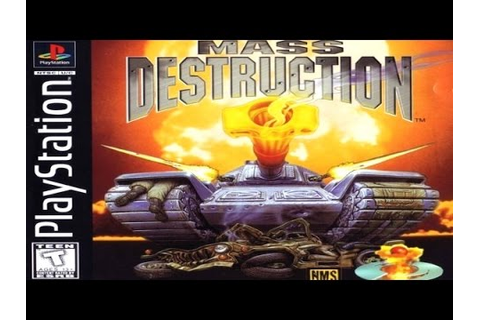 Mass Destruction Game Review (PS1) (1997) - YouTube