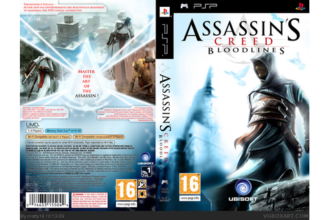 Assassins Creed; Bloodlines PSP Box Art Cover by matty16