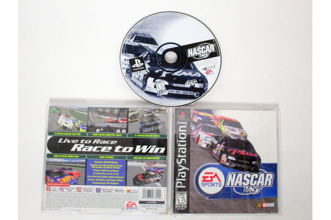 NASCAR 99 game for Sony PlayStation 1 | The Game Guy