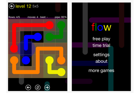 Flow Free – Fun Visual Motor App! | OT's with Apps ...