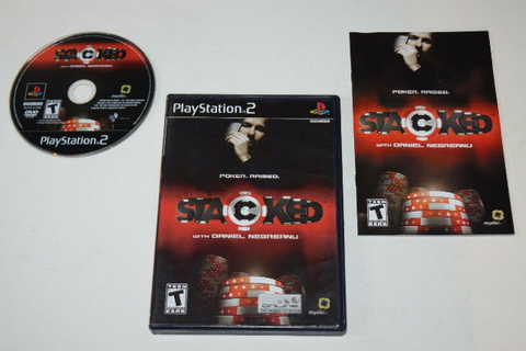 Stacked With Daniel Negreanu Playstation 2 PS2 Video Game ...