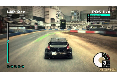 DiRT 3 Complete Edition (Shibuya) Gameplay #2 ON GTX 465 ...
