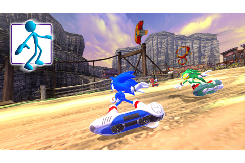 First Look At Sonic Free Riders' Rocky Ridge Track – The ...