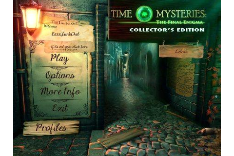 Free Games Download: Time Mysteries 3: The Final Enigma ...