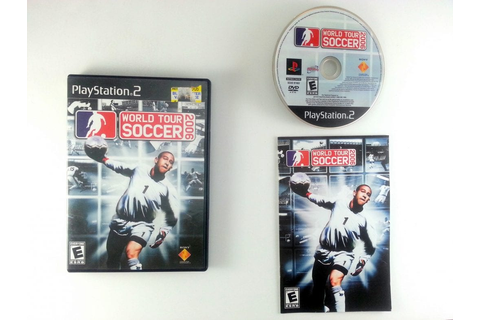 World Tour Soccer 2006 game for Playstation 2 (Complete ...