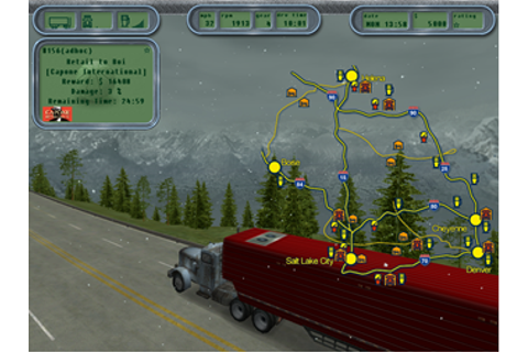Free Download Game: Hard Truck: 18 Wheels of Steel Full Game