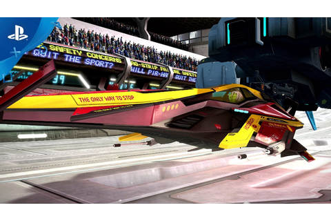 WipEout Omega Collection Coming to PS4 on June 6th ...