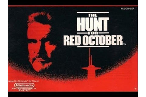 CGRundertow THE HUNT FOR RED OCTOBER for NES Video Game ...