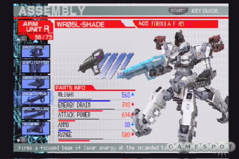 Armored Core: Formula Front Extreme Battle (USA) PSP ISO ...