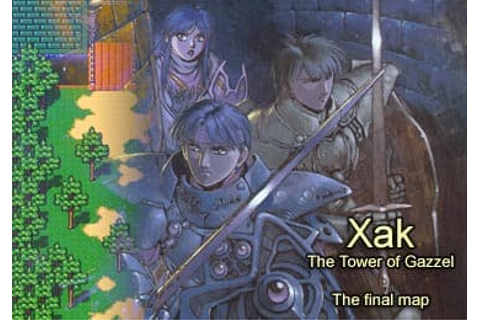 Xak - The Tower of Gazzel - map update | MSX Resource Center