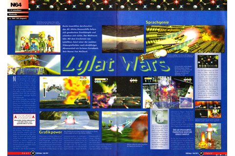 Lylat Wars (Nintendo 64) - N.i.n.Retro (New is not Retro) v3+