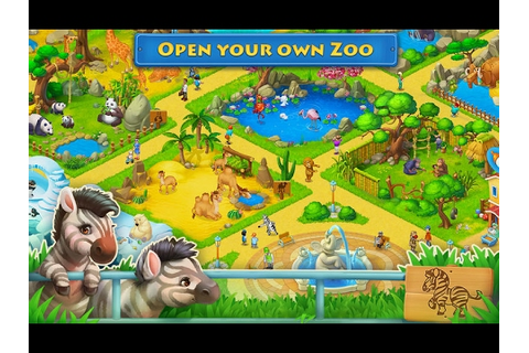 TOWNSHIP ANDRIOD GAME ZOO - YouTube