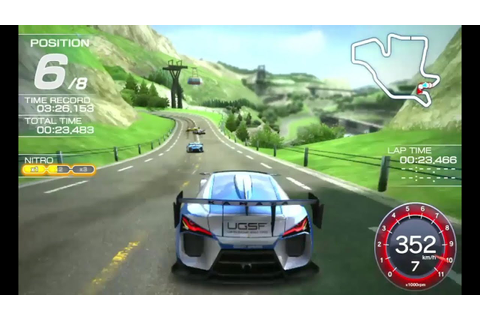 Ridge Racer - PS Vita - In-Game - YouTube