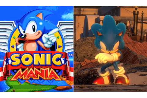 Sonic Mania and Project Sonic announced by Sega