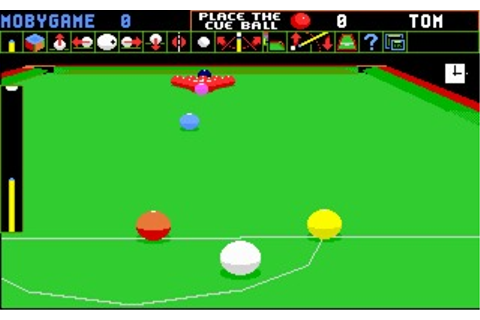 Jimmy White's Whirlwind Snooker (DOS, Amiga) Game Download
