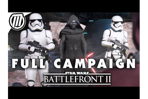 Star Wars Battlefront 2: FULL GAME CAMPAIGN | Gameplay ...