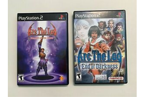 2 Game Lot Arc The Lad: End of Darkness + Twilight of ...